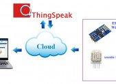 Thermometre DHT22 via THINGSPEAK